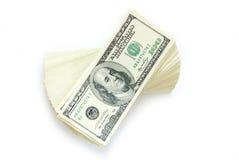 Stapel van geld Royalty-vrije Stock Foto