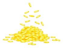 Stapel van geld vector illustratie