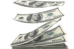 Stapel van geld Stock Afbeeldingen
