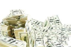 Royalty vrije stock afbeelding stapel van geld