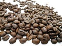 Stapel van geroosterde koffie Stock Afbeelding