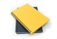 Stapel van het boek of het notitieboekje van het ringsbindmiddel Stock Foto's