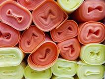 Stapel van het Isoleren van sponsbroodje voor parket royalty-vrije stock afbeelding