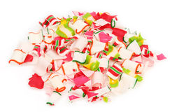 Stapel van het Verpletterde Suikergoed van het Lint Royalty-vrije Stock Afbeeldingen