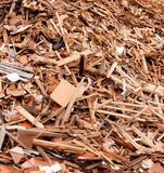 Stapel van hout Stock Afbeelding