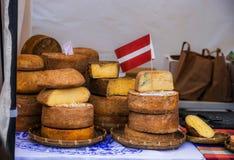 Stapel van kaas Stock Afbeelding