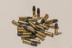 Stapel van kleine munitie Stock Afbeelding
