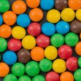 Stapel van kleurrijk suikergoed stock foto's