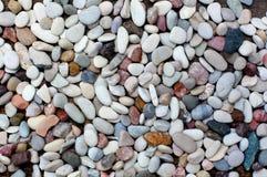 Stapel van kleurrijke stenenachtergrond Royalty-vrije Stock Foto's