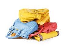 Stapel van kleurrijke zakken Royalty-vrije Stock Afbeelding
