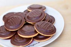 Stapel van koekjes Stock Afbeeldingen