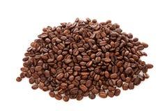Stapel van koffiebonen Stock Afbeelding