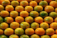 Stapel van mandarijnen Royalty-vrije Stock Foto's