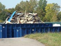 Stapel van metaal voor recycling Stock Afbeeldingen
