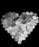Stapel van muntstukken Royalty-vrije Stock Fotografie