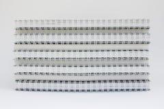 Stapel van notitieboekje stock foto's