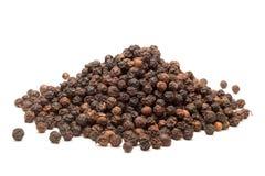 Stapel van Organische Zwarte peper royalty-vrije stock afbeelding