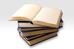 Stapel van oude boeken Royalty-vrije Stock Foto's