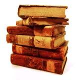 Stapel van oude boeken Stock Foto