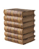 Stapel van oude boeken Stock Fotografie