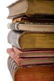 Stapel van oude boeken Stock Afbeeldingen