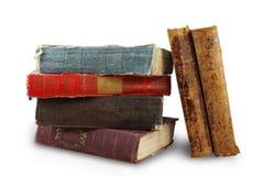 Stapel van oude boeken Stock Afbeelding