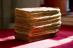 Stapel van oude boeken Royalty-vrije Stock Foto