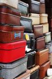 Stapel van oude koffers Royalty-vrije Stock Afbeelding