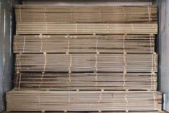 Stapel van planken Stock Afbeeldingen