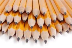 Stapel van potloden Stock Afbeelding