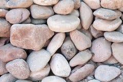 Stapel van reusachtige ronde rotsen Royalty-vrije Stock Foto