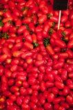 Stapel van rode tomaat Stock Fotografie