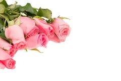 Stapel van roze roze bloesems royalty-vrije stock foto