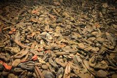 Stapel van schoenen royalty-vrije stock foto's
