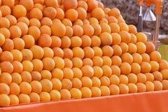 Stapel van sinaasappel Royalty-vrije Stock Afbeelding