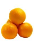 Stapel van sinaasappelen Royalty-vrije Stock Afbeelding