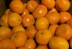 Stapel van sinaasappelen Royalty-vrije Stock Foto's