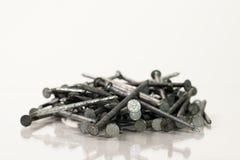 Stapel van Spijkers Stock Fotografie