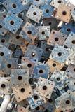 Stapel van steigerbasis Stock Fotografie