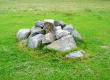 Stapel van stenen Royalty-vrije Stock Afbeelding