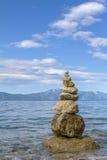 Stapel van stenen Stock Foto