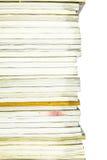 Stapel van tijdschriftpatroon royalty-vrije stock afbeeldingen