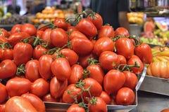 Stapel van tomaten Stock Afbeelding
