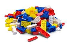 Stapel van Toy Blocks stock foto