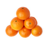 Stapel van veelvoudige rijpe verse sappige mandarijnen Royalty-vrije Stock Afbeelding