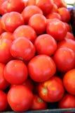 Stapel van Verse Rippe-Tomaten Stock Foto's