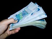 Stapel van vreemde valuta Stock Fotografie