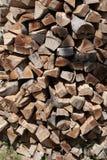 Stapel van vurenhout Royalty-vrije Stock Afbeeldingen