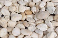 Stapel van witte stenen Royalty-vrije Stock Foto
