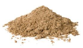 Stapel van zand stock foto